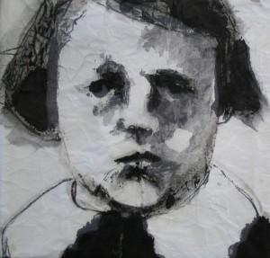 Orphelin zwart wit