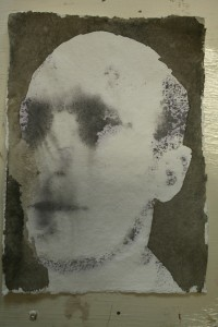portretje  inkt op papier